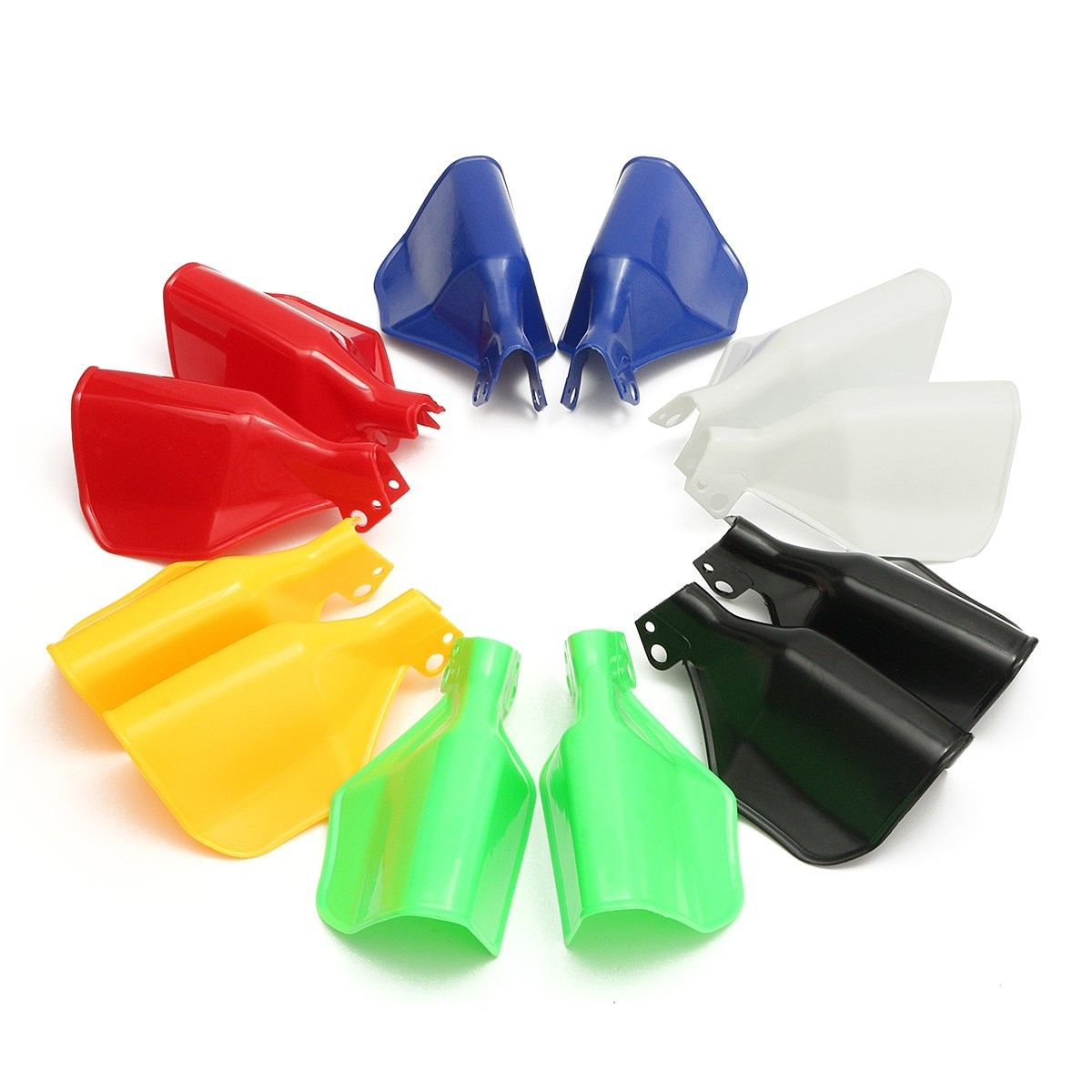 1 Pair 6 Colors Universal Fit Protector Protection Handguard Hand Guard Motorcycle Scooter