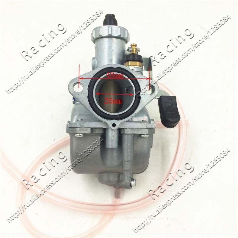 Высокая производительность VM22 PZ26 26 мм Карбюраторы для мотоциклов carb для мотоцикла Грязь велосипед ямы ATV Quad 110cc 125cc140cc мотокросс