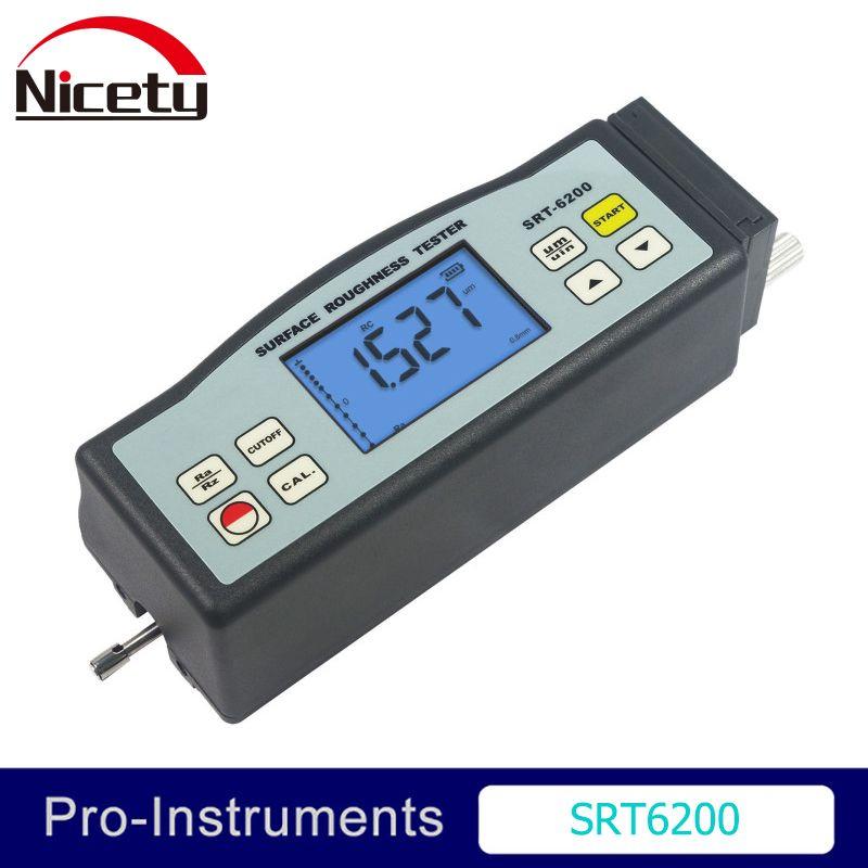 SRT-6200 Landtek Digitale Oberfläche Rauheit Tester Meter Gauge Palette Ra Rz ISO DIN ANSI und JIS Standard Null SRT6200
