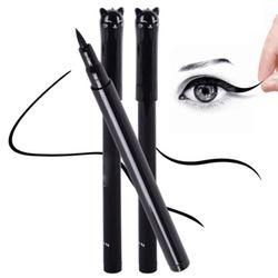 1 PC NOUVEAU Beauté Chat Style Noir Long-durable Imperméable À L'eau Liquide Eyeliner Eye Liner Pen Crayon Maquillage Cosmétique Outil