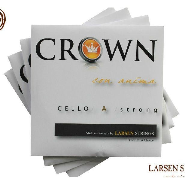 Free Shipping Cello string larsen crown violoncellists string set A D G C - Medium Tension