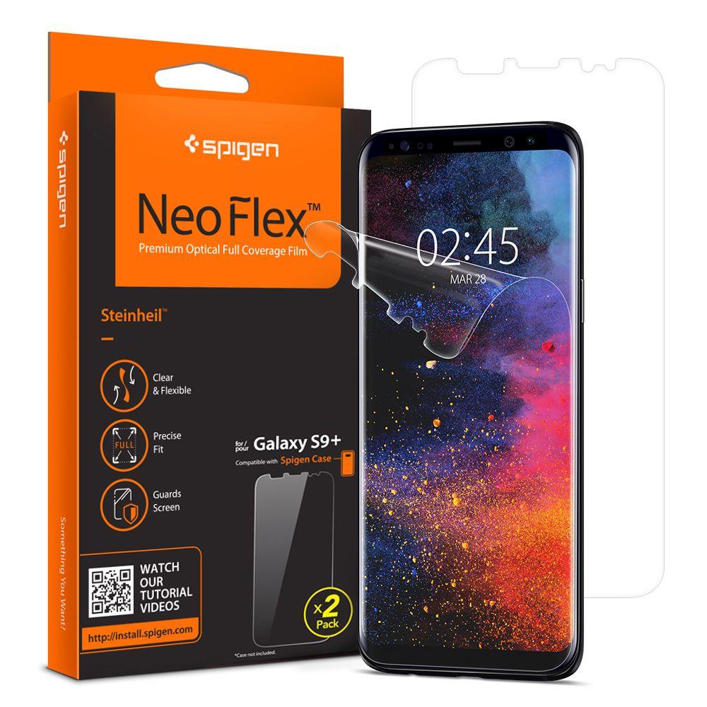 100% Original SPIGEN NeoFlex Screen Protector for Samsung Galaxy S9 Plus (S9+)
