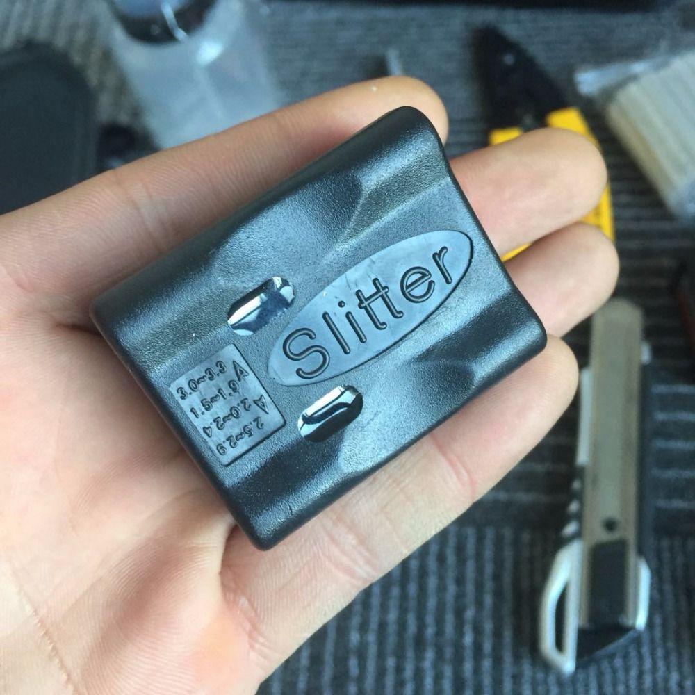 Fibre optique lâche Tube veste de câble découpeuse Fiber optique outil longitudinal faisceau tube lâche tube dépouillement couteau décapant