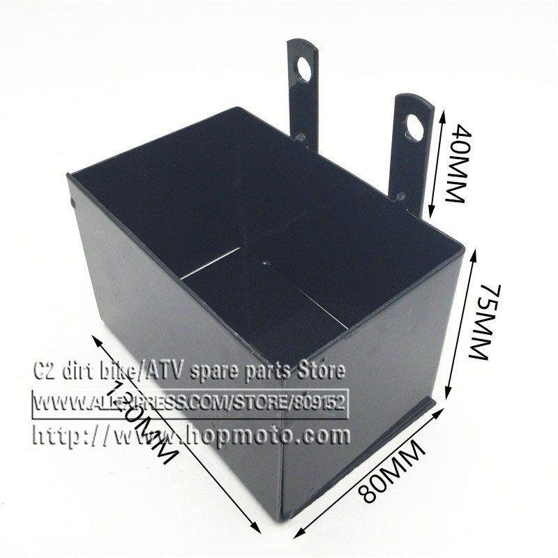 CRF50 Frame battery box dirt pit bike Case holder off road motorcycle Apollo 110 Chinese motocross