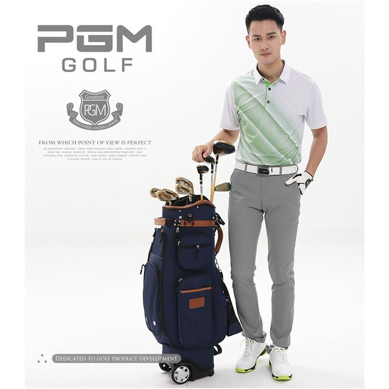 PGM Golf Pants Men Quick Drying Thin Pants Plus Size Golf Men's Clothes High Elastic Trousers for Men Waterproof Colorful  Pants