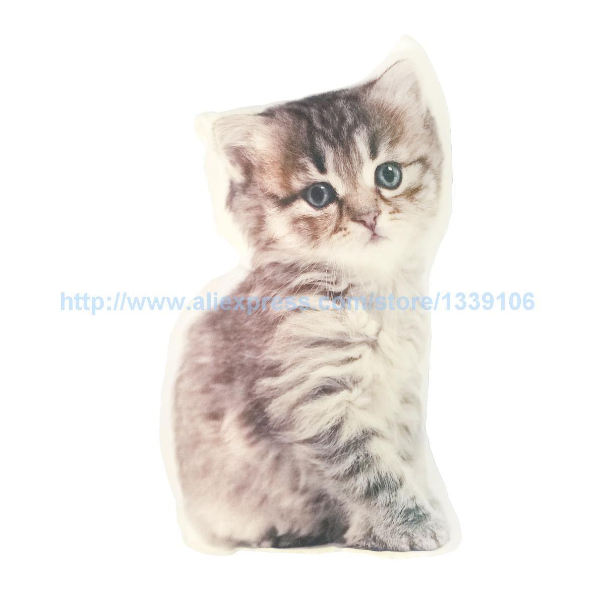 39x23 cm Belle kitty Chat Coussin Pet Pour Cadeau Personnalisé Canapé Chaise Coussin Décor À La Maison Coussin Décoratif oreillers Idealkea