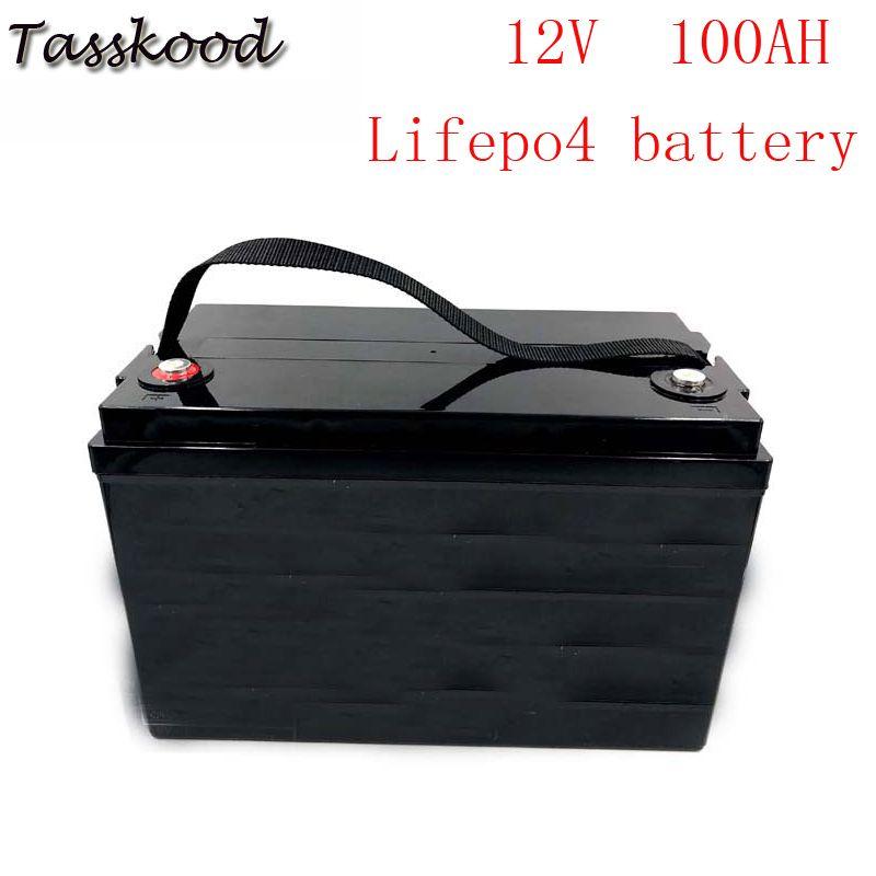 Keine steuern Ebike LiFePO4 batterie 12V 100AH Lithium-ionen Solar Lagerung UPS Akku Pack
