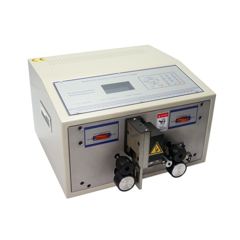 SWT508C computer wire peeling striping cutting computer MACHINE