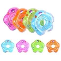 Baby Bath Swimming Neck Float Inflatable Ring Adjustable Safety Aids 1-18 Months