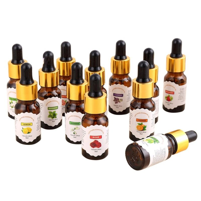 10ml Flower Essential Oil- Improve immunity /Eliminate odor/helpful to colds/cough