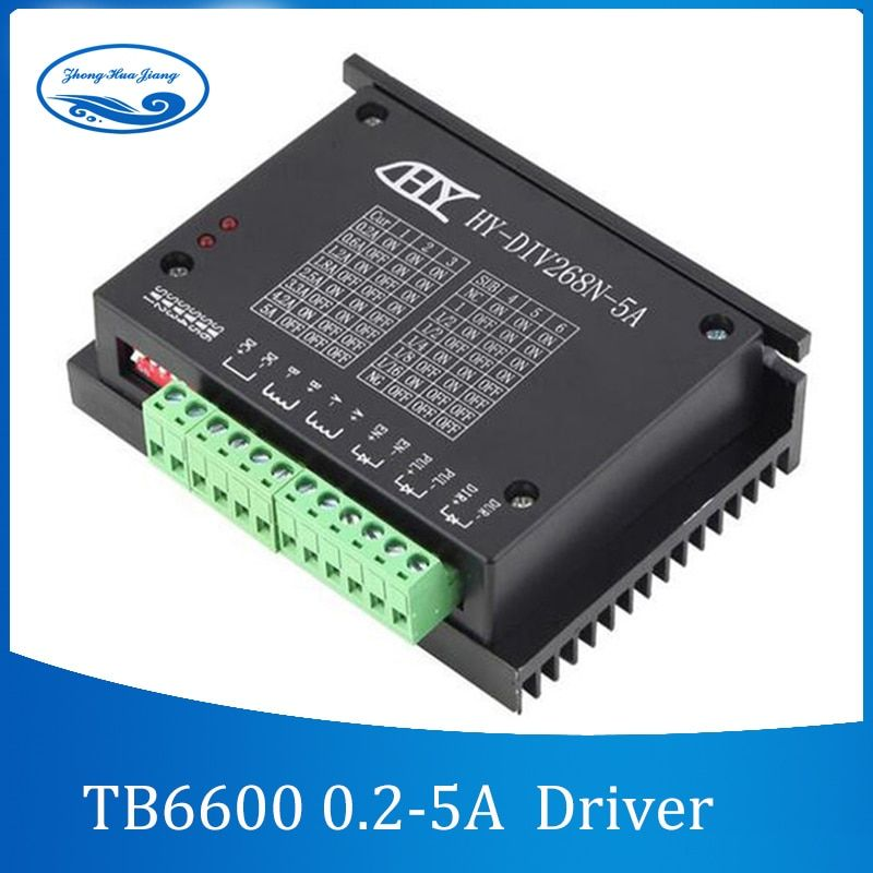 TB6600 0.2-5A CNC controller ,stepper motor driver nema 17,23, tb6600 Single axes Two Phase Hybrid stepper motor for cnc