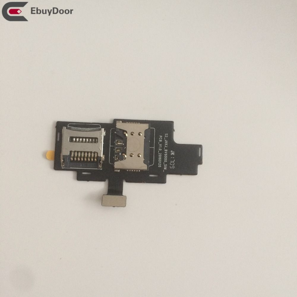 New Sim Card Holder Tray Card Slot For Blackview BV6000 4.7 MT6755 Octa core 1280x720 Free Shipping + Tracking Number