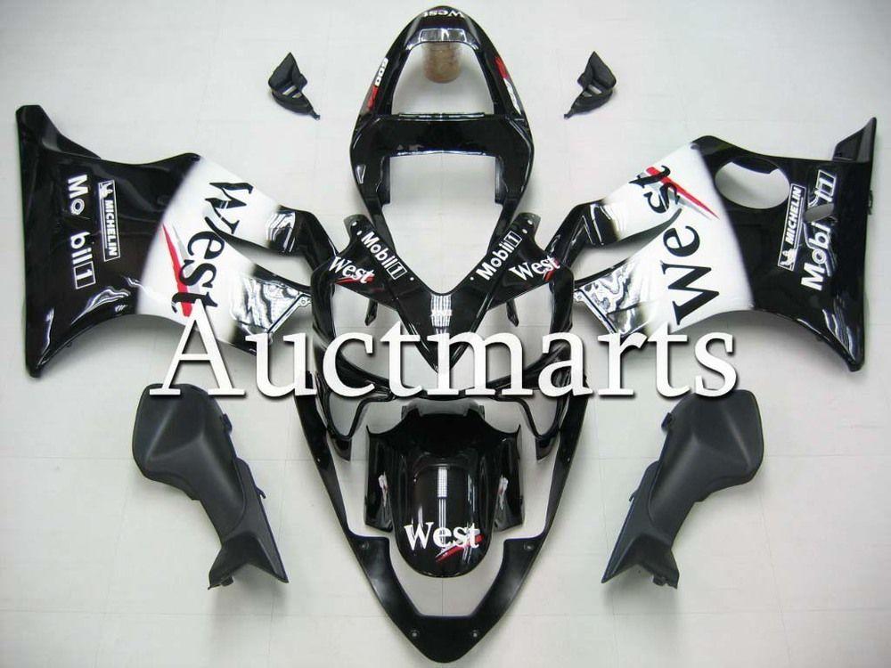 For Honda CBR 600 F4i 2001 2002 2003 Injection ABS Plastic motorcycle Fairing Kit Bodywork CBR600 F4I 01 02 03 CBR600F4i EMS17