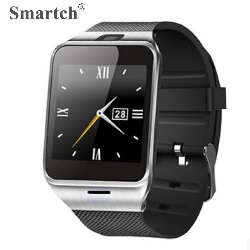 Smartch Aplus GV18 Montre Smart Watch pour Android, Carte SIM Téléphone Smartwatch, Bluetooth Intelligent Horloge, Mieux Que DZ09 GT08 Smart Montres