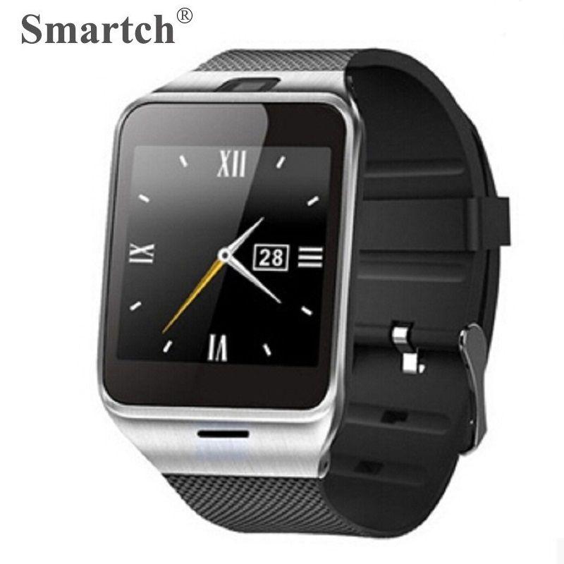 Smartch Aplus GV18 Montre Smart Watch pour Android, Carte SIM Téléphone Smartwatch, Bluetooth Intelligent Horloge, Mieux Que DZ09 GT08 Smart Montres