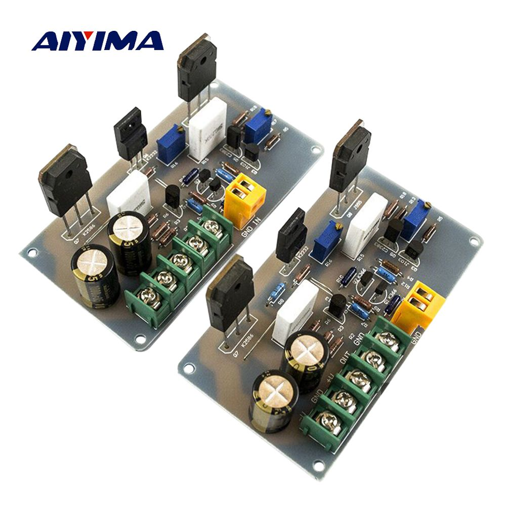 Aiyima 2PC A30 Audio Amplifier Board HI-FI 2 Channels Fever Pure Class A Home Amplifier Finished Board 30W+30W