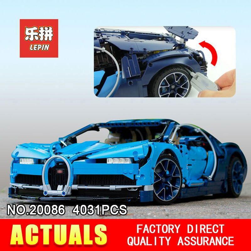 2018 New Lepin 20086 Technic Series Supercar Building Blocks Bricks Educational Toys Compatible 42083 to Boy Gifts Model