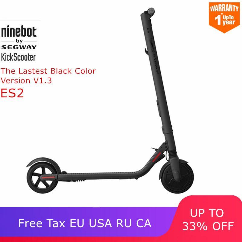 Ninebot KickScooter ES2 Smart Elektrische Roller faltbare bord Tretroller hoverboard skateboard upgrade von Xiaomi Mijia M365