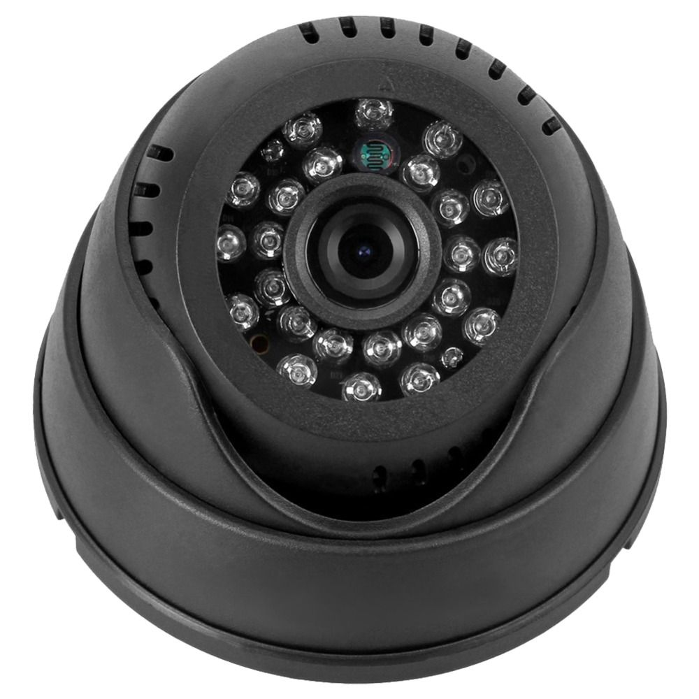 MOOL Dome Recording Camera Dome Indoor CCTV Security Camera Micro-SD/TF Card Night Vision DVR Recorder
