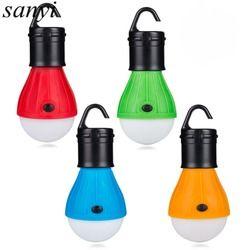 Lanternes portables LED Lampe Lanterne Lumière Ampoule Éclairage Extérieur Tente Pendaison Portable Led Lampe Randonnée Camping Nuit Lumière