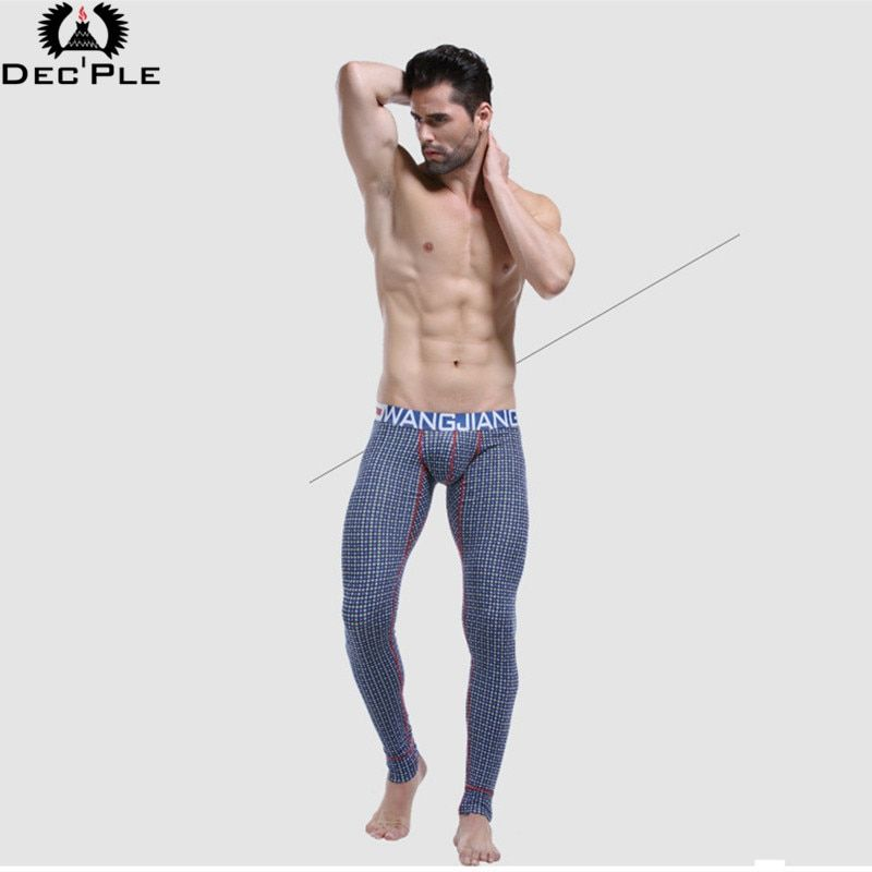 2017 Nueva Moda Larga Para Hombre Calzoncillos underpant Algodón de la Impresión 3D Salón del Sueño de los hombres Ocasionales adelgazan pantalones de pijamas de la ropa interior masculina En Casa desgaste