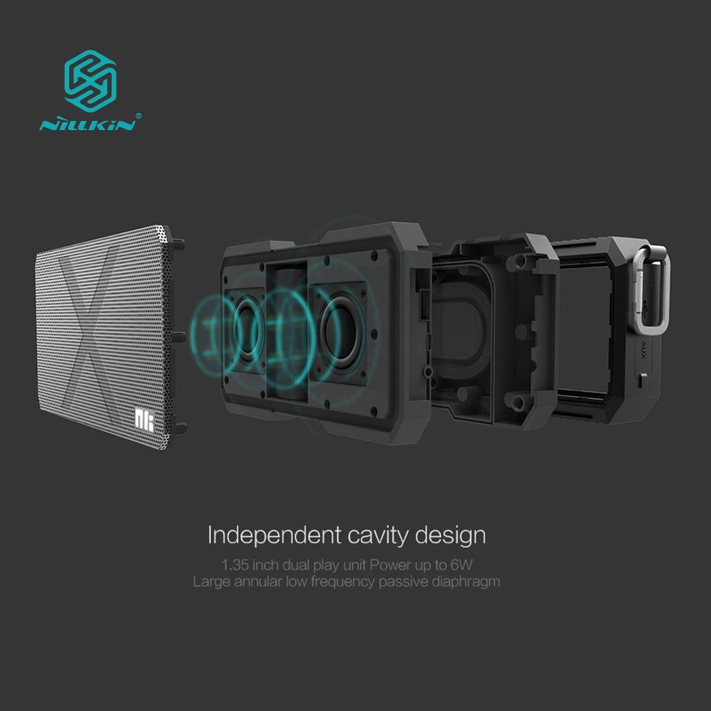 NILLKIN X-человек Bluetooth динамик телефона зарядное устройство музыка объемного беспроводной динамик провод для Xiaomi для Samsung для iphone OnePlus zuk