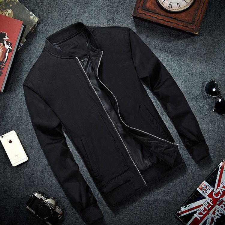 MRMT 2019 marque hommes Bomber veste mince hommes Baseball vestes manteau solide couleur décontracté veste pardessus pour hommes vêtements