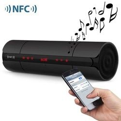 KR-8800 Multifunctional Portable Smooth Wireless Bluetooth Speaker Subwoofer Boombox Shock Bass