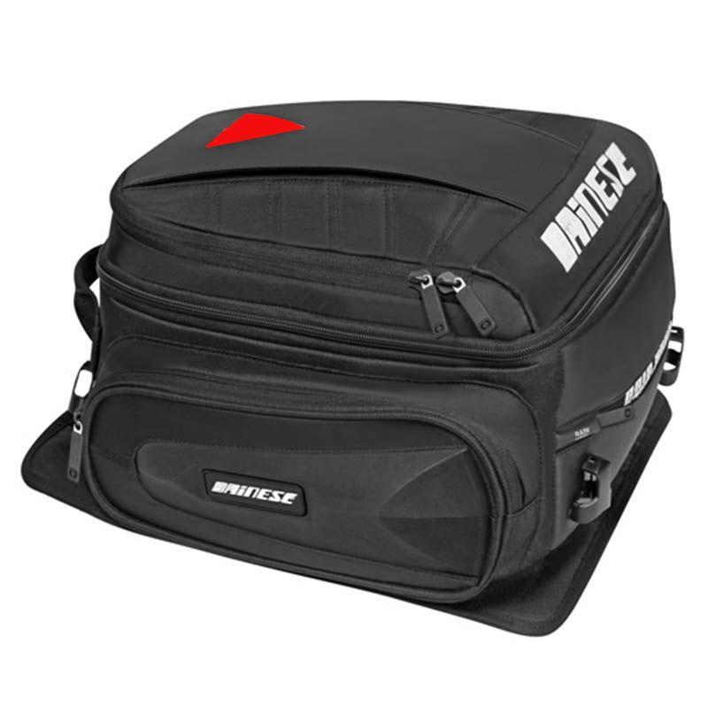 Motorcycle rear bag Black D-TAIL Alforjas Para Saddle Bags Tail Bag Ogio