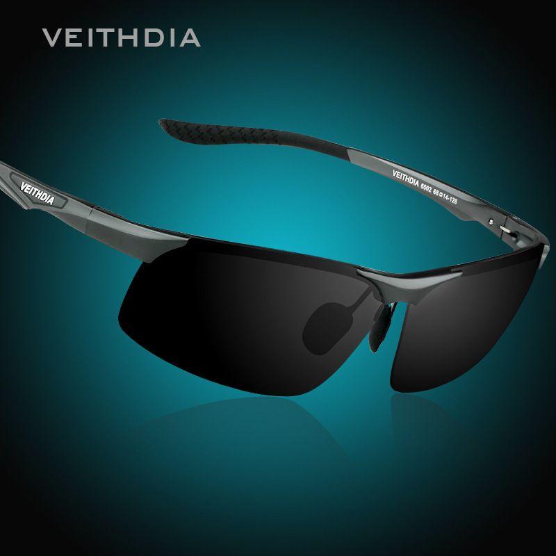 Marque aluminium magnésium lunettes de soleil polarisées hommes S lunettes de soleil nuit conduite miroir mâle accessoires lunettes lunettes lunettes Oculos