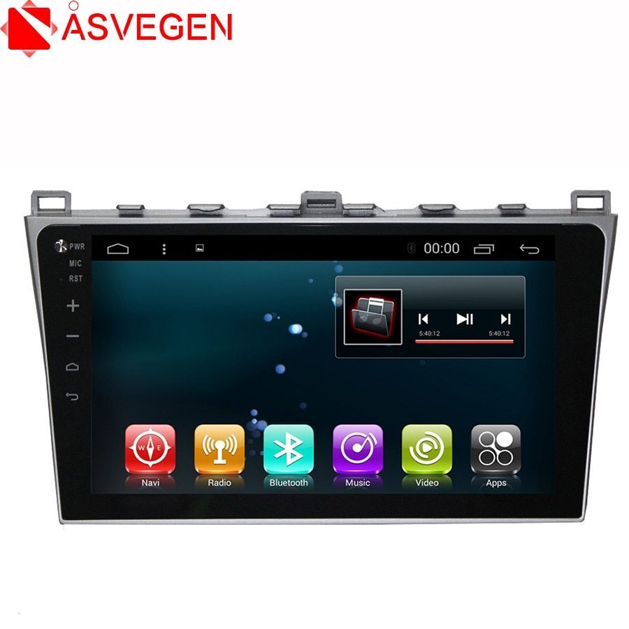 Asvegen RAM2+32 12.1 inch Android 6.0 Quad Core Car Auto WIFI Radio Multimedia Player GPS Navigation For Mazda 6 Summit 2009