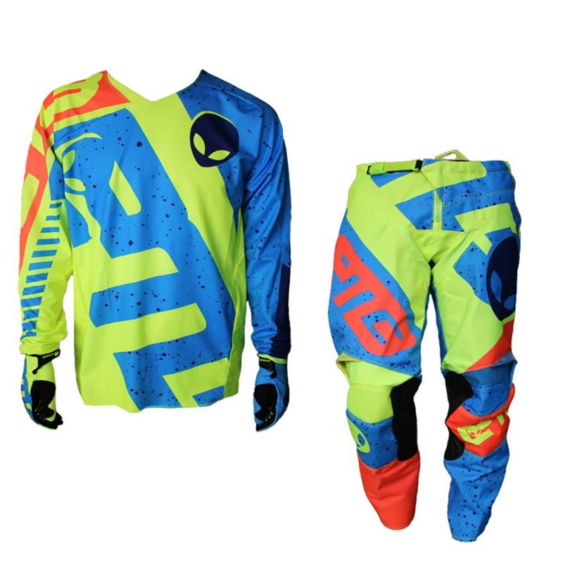 Mouantain bike off-road vehicles Racing Motorcycles Outdoor sports atv mtb dh mx ktm non-slip motocross jersey and pants suits