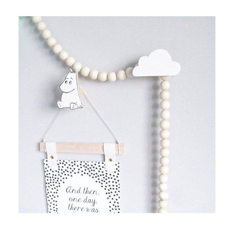 Милый деревянный крючок для одежды для детская комната стены украсить детская комната эко-облака вешалка крюк детская комната украшения