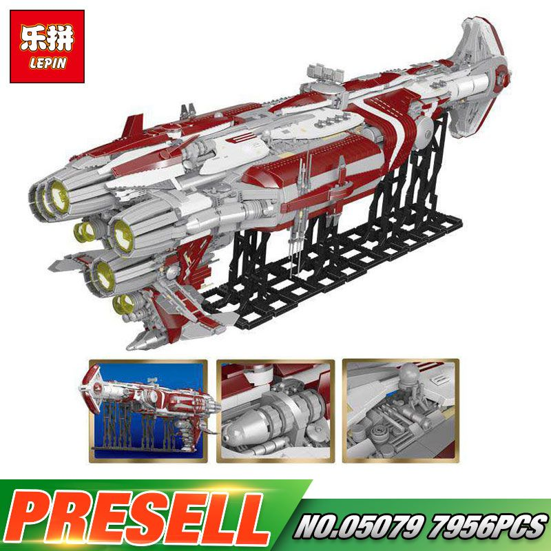 Lepin 05079 7956pcs Star Plan War Series The MOC Zenith Old Republic escort cruiser Set Building Blocks Bricks Kids Toys Gifts