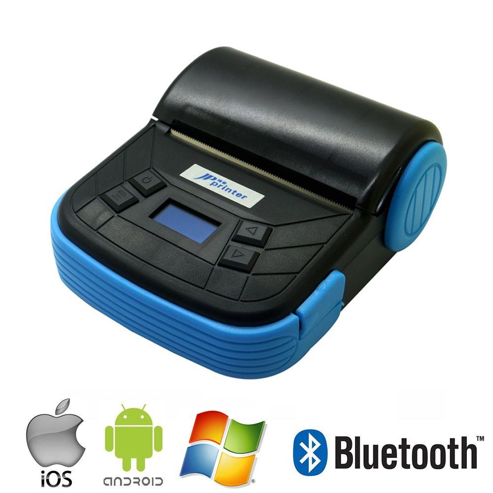 Tragbare 80mm BluetoothThermal Pos-quittungsdrucker für Apple IOS & Android-Handy und Windows Drucker