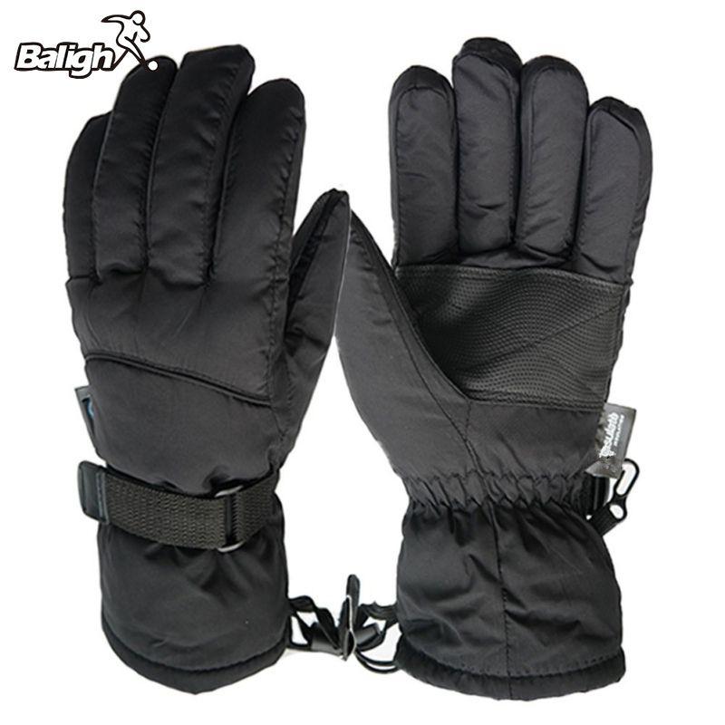 Men's Ski Gloves Snowboard Gloves 2017 Snowmobile Motorcycle Riding Winter Gloves Windproof Waterproof Unisex Snow Gloves