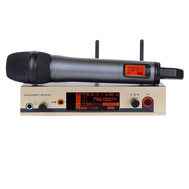 Professional wireless microphone EW UHF 335G3 300G3 Cordless Microphone System Handheld Wireless Mic skm microphone brand G3