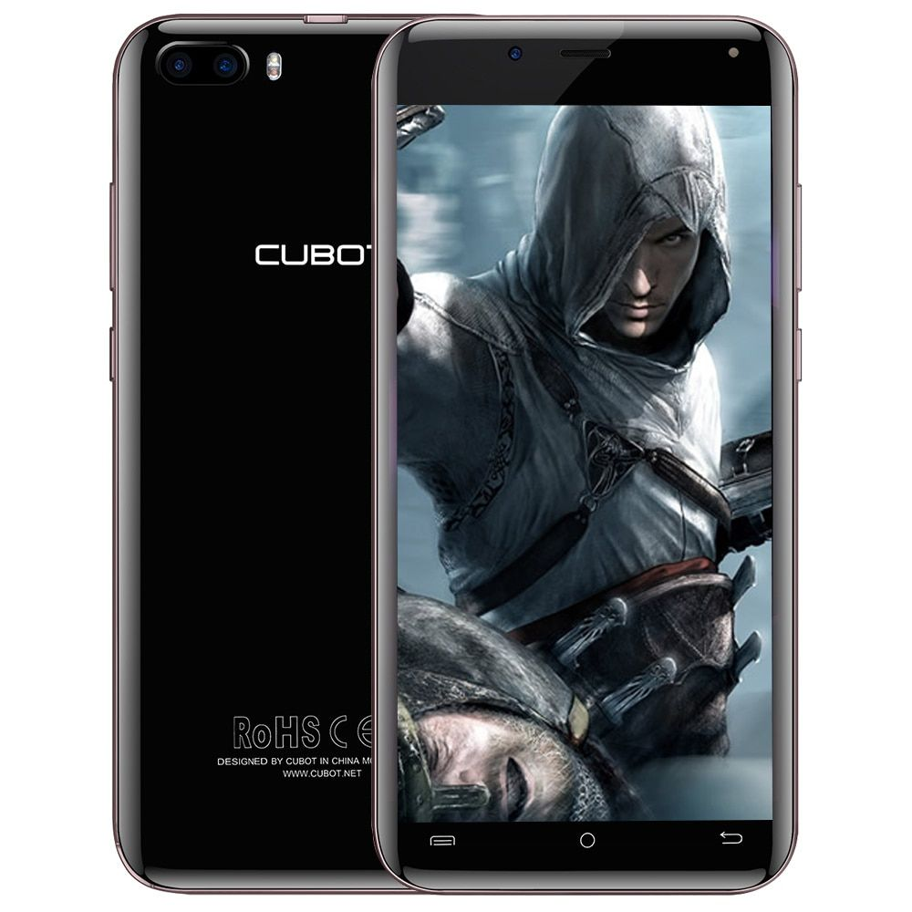 CUBOT Magic 4G Smartphone Android 7.0 5.0 inch MTK6737 Quad Core 1.3GHz 3GB RAM 16GB ROM 13.0MP Dual Rear Cameras Mobile Phone