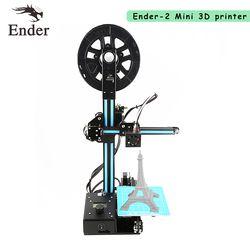 Neueste! Einfach Montieren Ender-2 3D Drucker DIY KIT 3d drucker Reprap prusa i3 filament + werkzeuge + Brutstätte + 8G SD karte + Werkzeuge