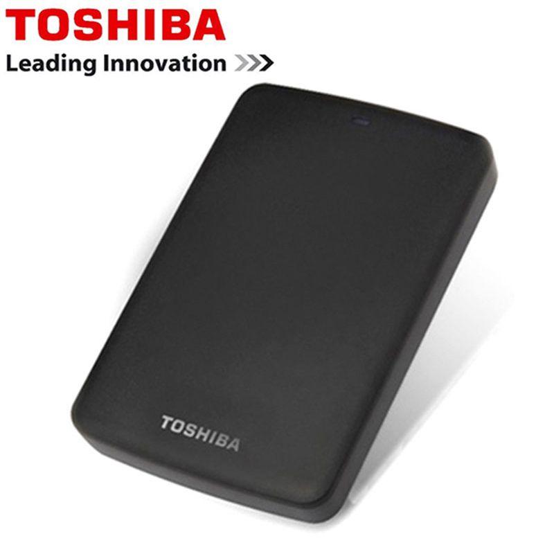 Toshiba Festplatte Tragbare 1 tb 2 tb Kostenloser versand Laptops Externe Festplatte 1 tb Disque dur hd Externo USB3.0 HDD 2,5 Festplatte
