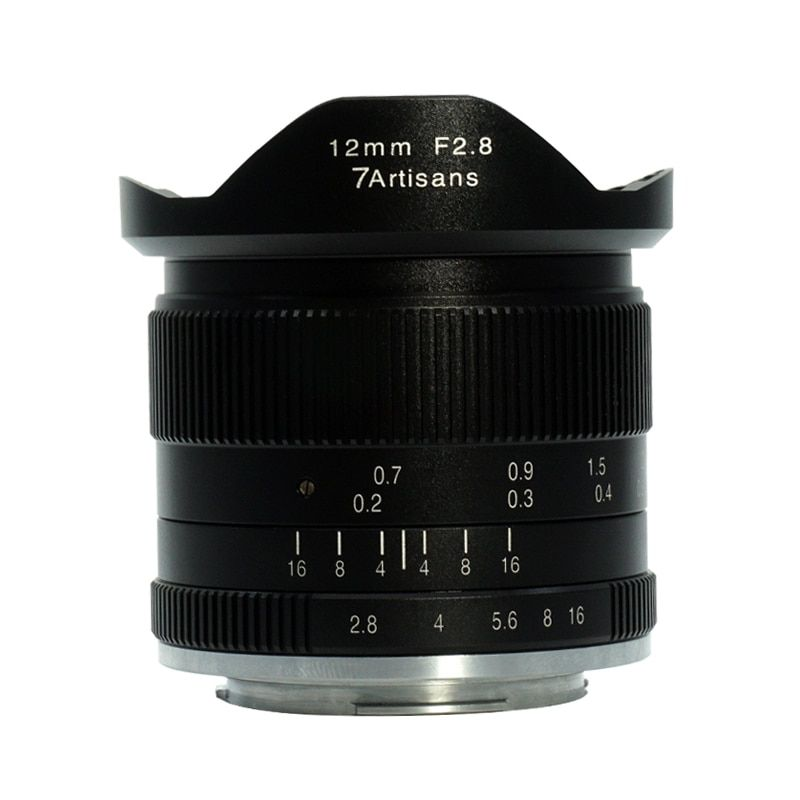 7artisans 12mm f2.8 Ultra Wide Angle Lens for Sony A6500 A6300 A6000 A5100 A5000 NEX-3 NEX-3N NEX-3R NEX-C3 NEX-F3K NEX-5K