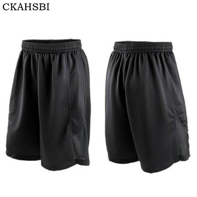 CKAHSBI Summer Quickly Dry Gym Sports Leggings Crossfit Men's Shorts Football Trousers Jogging Compression Tights Running Shorts