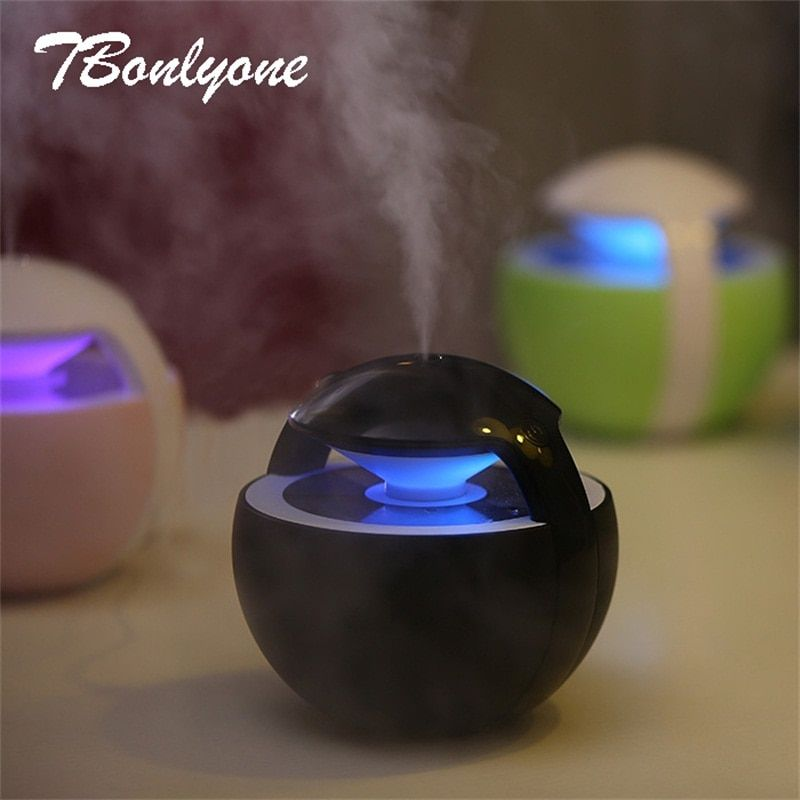 Tbonlyone 450ML Ball Humidifier Aroma Diffuser Mini For Baby Home Office Essential Oil Diffuser Air Usb Ultrasonic Humidifier