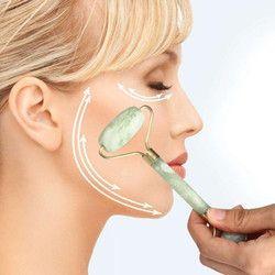 Natural Facial Beauty Massage Tool Jade Roller Face Thin Massager Natural Jade Massage Face-lift Wholesale & Drop Shipping