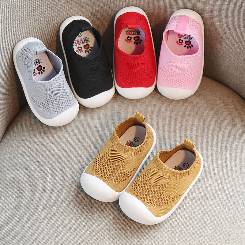 2019 Spring Infant Toddler Shoes Girls Boys Casual Mesh Shoes Soft Bottom Comfortable Non-slip Kid Baby First Walkers Shoes