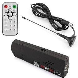 Digital USB TV FM+DAB DVB-T RTL2832U+R820T Support SDR Tuner Receiver & dvb t HDTV tv Stick dongle with Receiver antenna