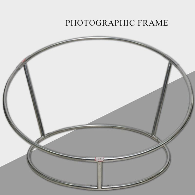 Newborn Photography Props Posing Steel Pipe Frame Steel Sofa Bebe Accessoires Photographiques Newborn Posing Nest Round Shelf