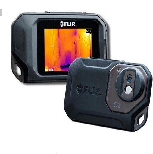 FLIR C2/C3-Wi-Fi Alle Neue Original Infrarot Thermische Imager thermische kamera tasche größe IR Kamera Wärme Sensor FLIR C2 /C3