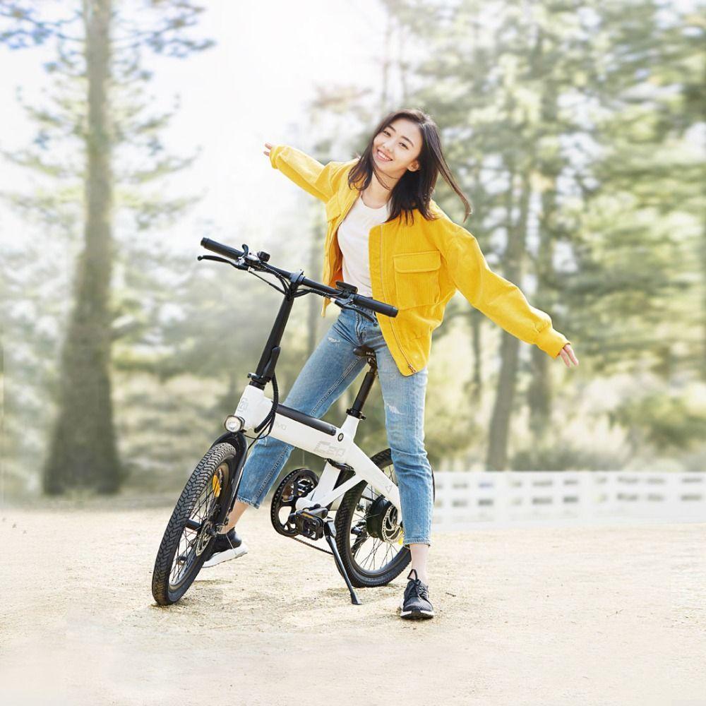 Xiao MI himo 20 zoll elektrische fahrrad 36v10ah 250 w DC motor stadt ebike Leichte elektrische unterstützen bike Pas palette 80 km