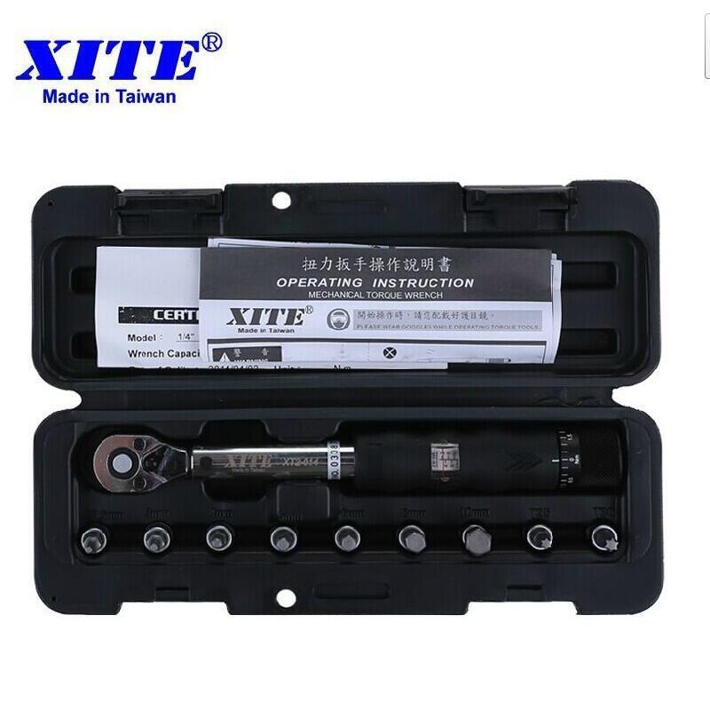 XITE Bicycle bike tools kit set tool bike repair spanner 1/4